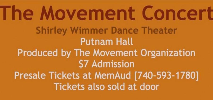 2015 Movement Concert banner