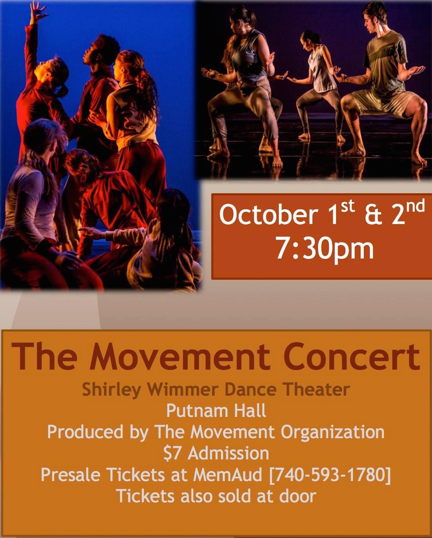 2015 Movement Concert poster