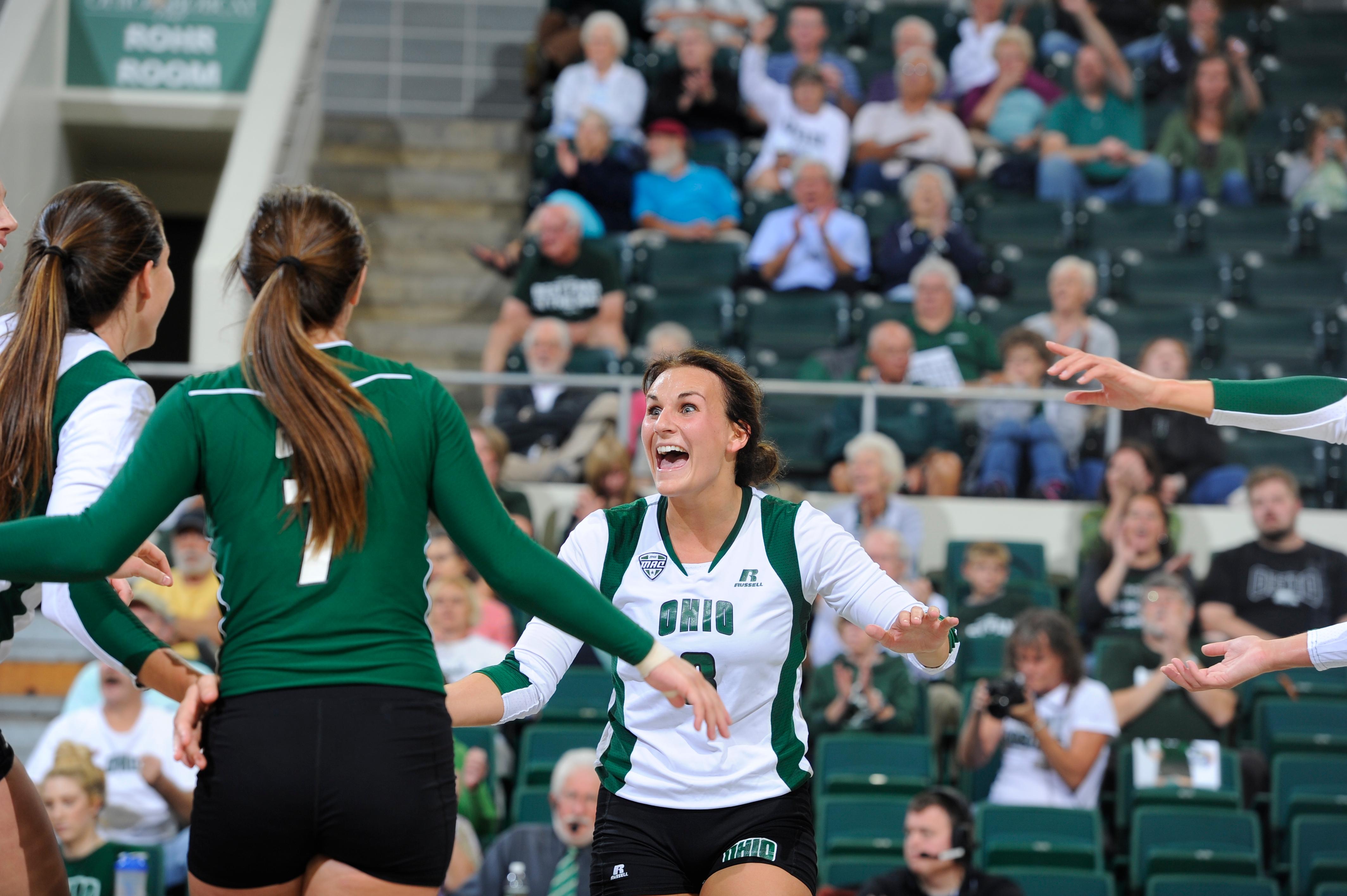 Photo Cred: Sarah Stier   Ohio Athletics