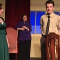 """(L-R) Cary Underwood, Jillian Von Gunten and Cory Roush star in Zanesville Community Theatre's production of Agatha Christie's """"Murder on the Nile,"""" opening Oct. 30. (Photo provided)"""