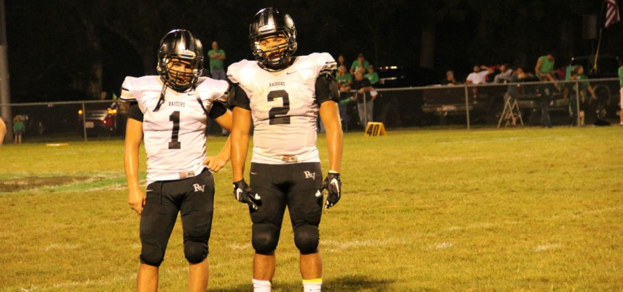 Sam Payne (right) during River Valley's game at Eastern.