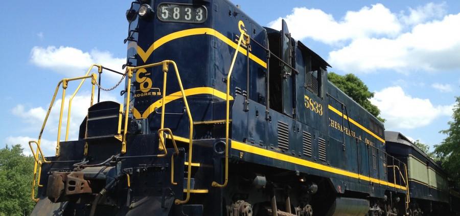 Hocking Valley Scenic Railway, Nelsonville, Ohio (photo courtesy of Stuart's Opera House)