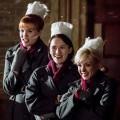 Nurse Patsy Mount (EMERALD FENNELL), Nurse Barbara Gilbert (CHARLOTTE RITCHIE), Nurse Trixie Franklin (HELEN GEORGE)