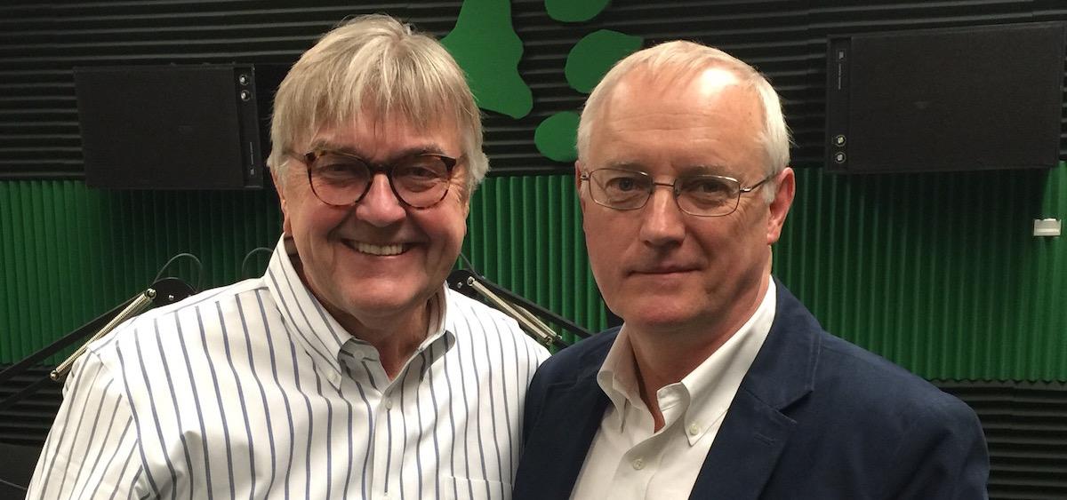 Tom Hodson and Dennis Dimick (Geoffrey Dabelko)