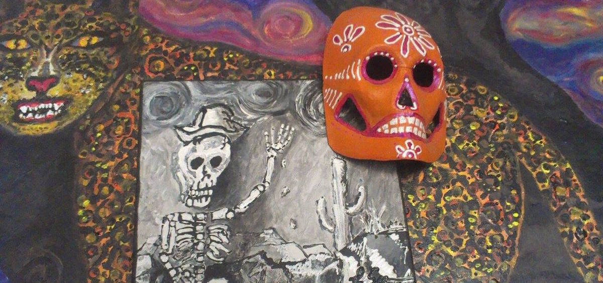 Works by Laura Serna-Maytorena will be on display at ARTS/West through November.