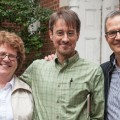 L-R: Ohio University College of Fine Arts Dean Peg Kennedy-Dygas; Dan Dennis, artistic director, Tantrum Theater; Michael Lincoln, artistic director/head, Theater Division (Ohio University)