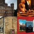 production stills from Downton Abbey
