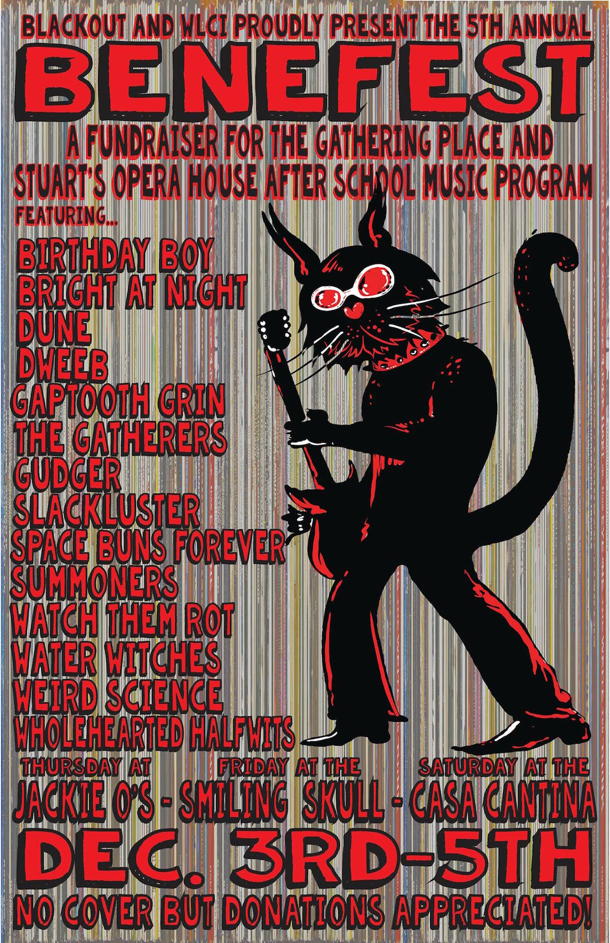 Benefest 2015 poster