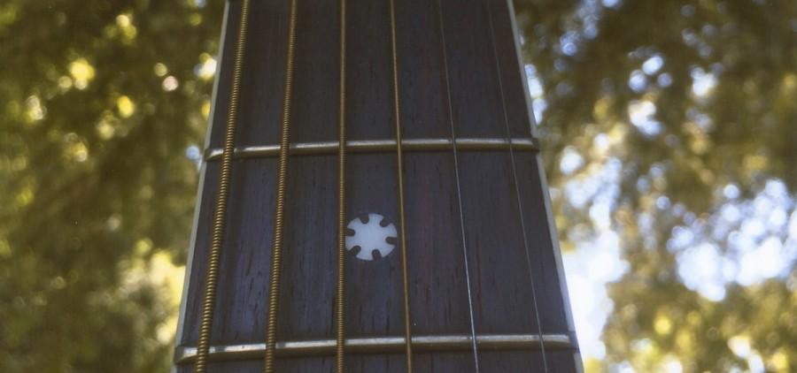 """Guitar,"" digital photograph, 2015, by Leia Gilmore"