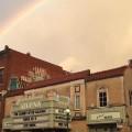 """""""Rainbow over the Athena Cinema,"""" Emily Beveridge"""