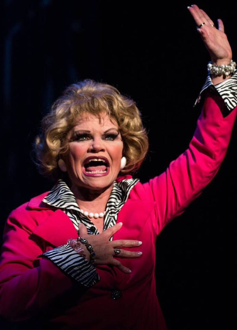 """Shelley Delaney stars in Brick Monkey Theater Ensemble's production of """"Tammy Faye's Final Audition."""" (photo provided)"""