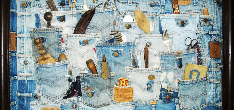 """""""Carried Home,"""" Charlotte Wachtel, mixed media (Courtesy of the Women of Appalachia Project)"""