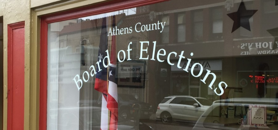 The Athens County Board of Elections Office