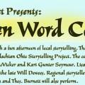 ARTS/West Spoken Word poster