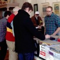 Attendees flip through vendors' bins at the 2013 Stuart's Opera House Record Sale and Swap. This year's event will be held on Feb. 13. (Photo courtesy of Stuart's Opera House)