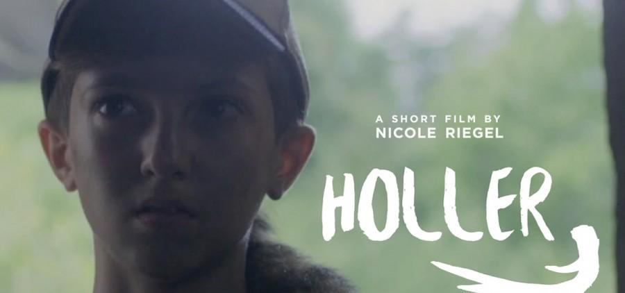 """Holler"" poster crop"