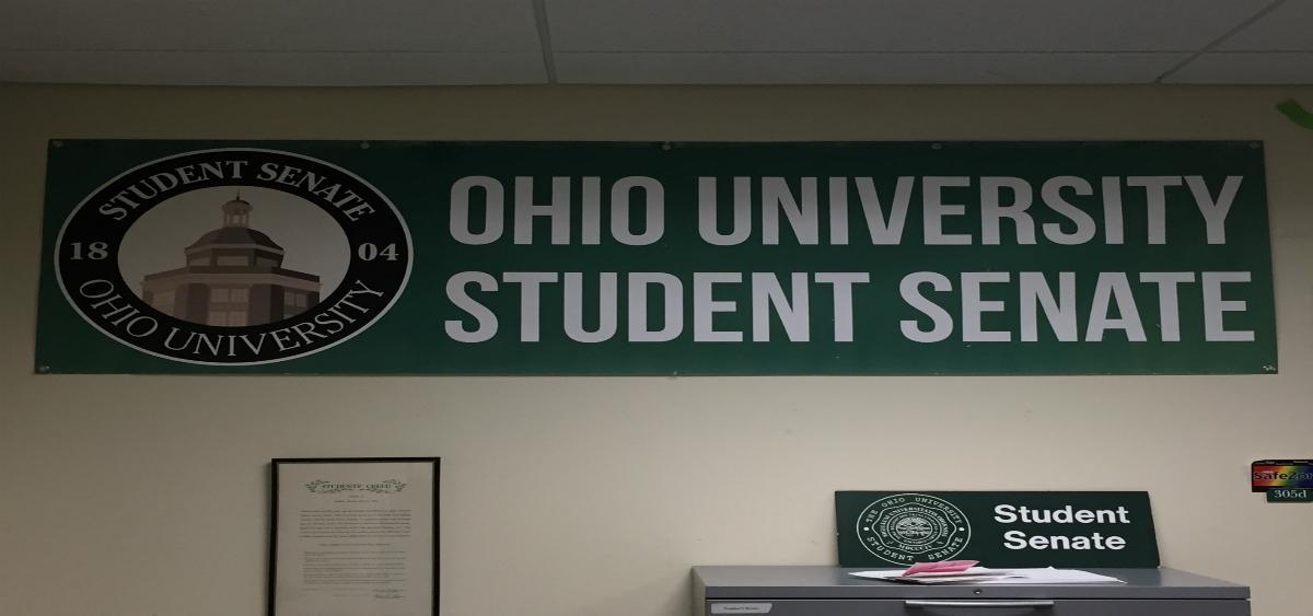 The Student Senate logo