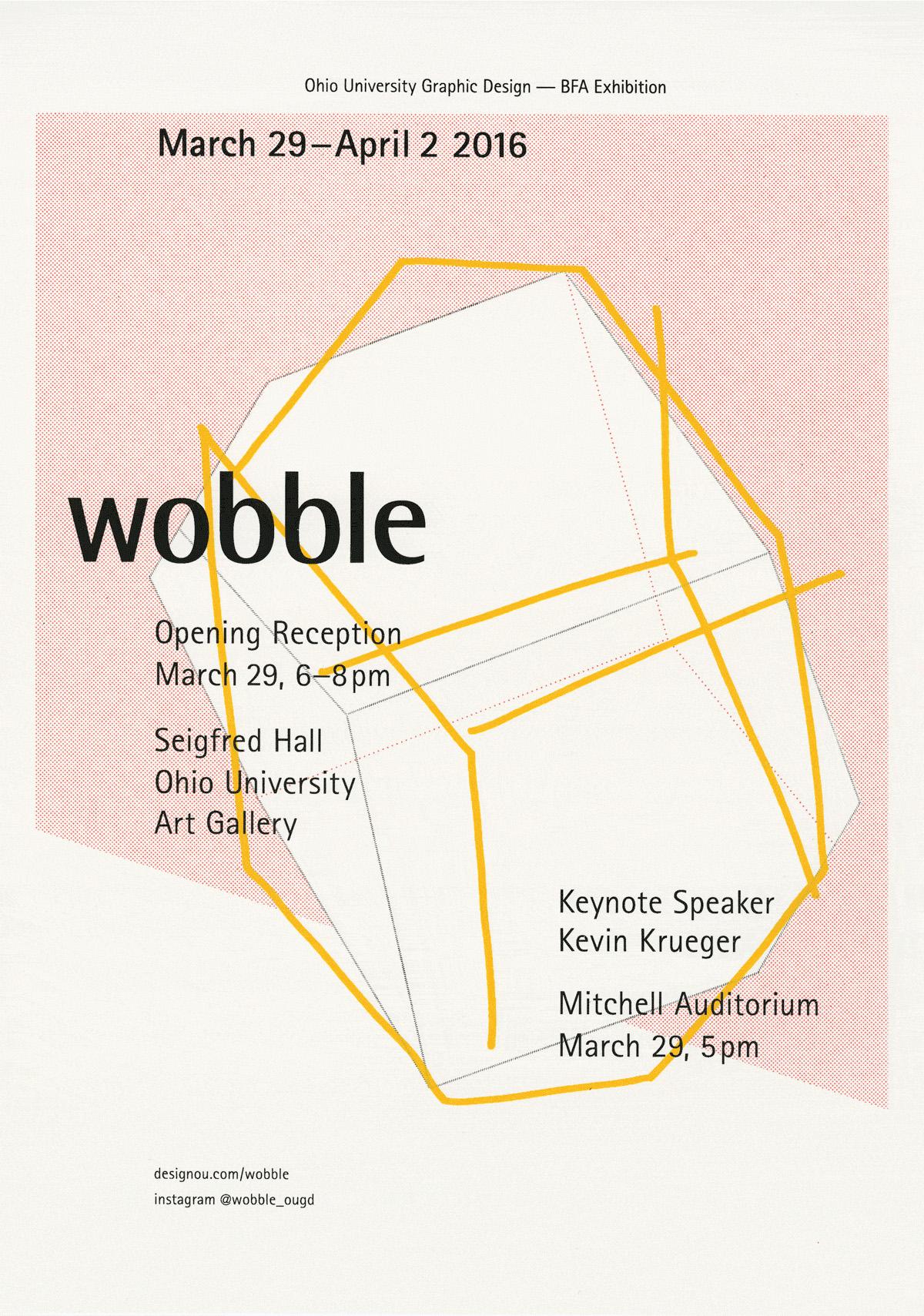 Wobble poster