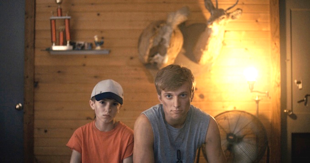 """Coon (portrayed by Peanut Edmonson) and Blaze (Cody Oppel) star in Nicole Riegel's """"Holler."""" (photo provided)"""