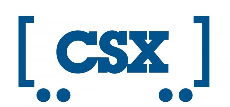 CSX train railroad FEATURE