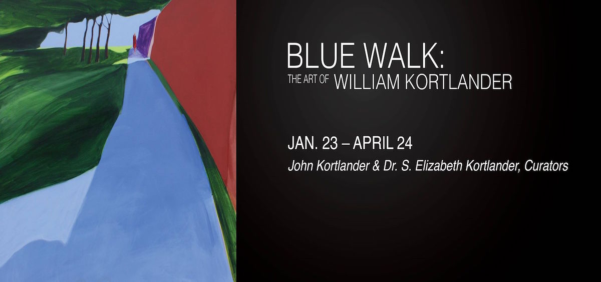 Blue Walk poster