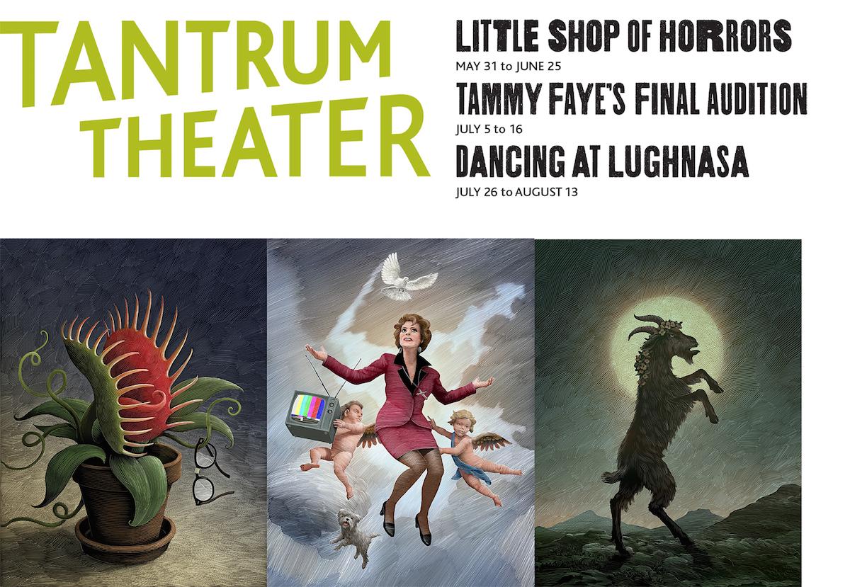 2016 Tantrum Theater poster
