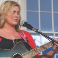 "Renée Stewart sings ""The Sound of Lonely"" at The Bowen House ""Women Speak"" event. (Kari Gunter-Seymour)"