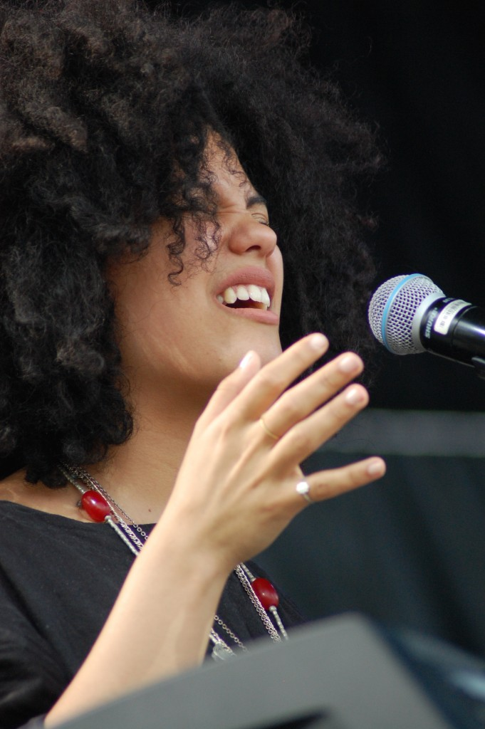 Iberia brought a captivating, mesmerizing set to the crowd gathered for the Friday afternoon performances at the 2016 Nelsonville Music Festival.