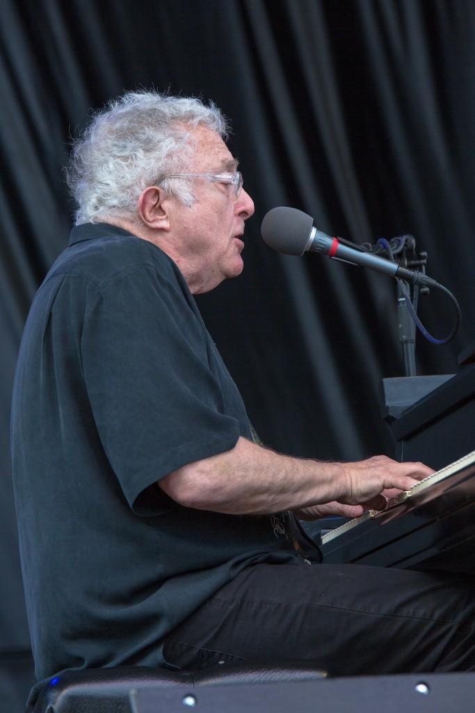 Festival headliner Randy Newman closed out the 2016 Nelsonville Music Festival. (WOUB/Jasmine Beaubien)