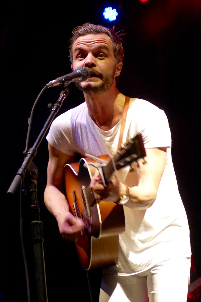 Swedish singer-songwriter Kristian Matsson served as one of the Saturday night headliners at the 2016 Nelsonville Music Festival. (WOUB/Shelby Coulter)