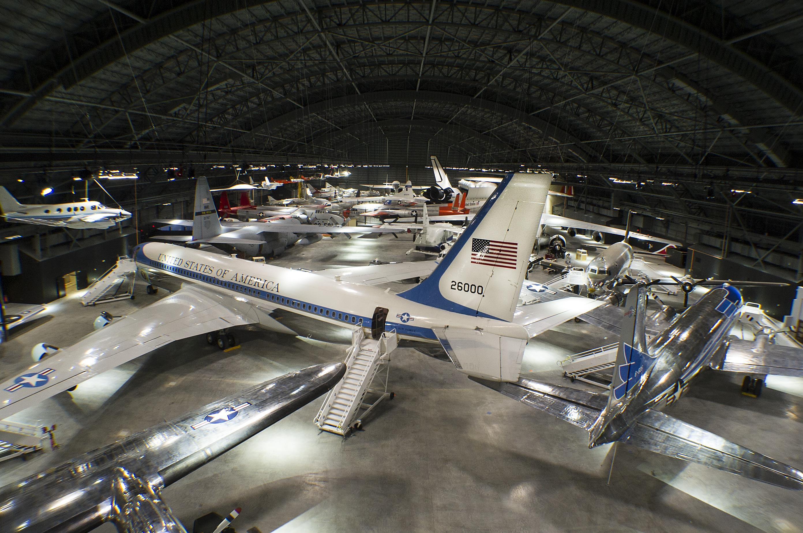 air force museum in ohio opens new 40 8 million hanger woub digital. Black Bedroom Furniture Sets. Home Design Ideas