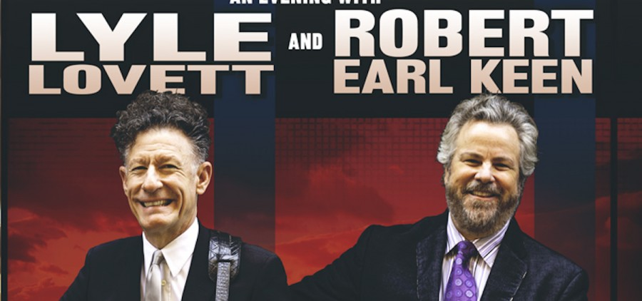 Acclaimed Texan singer-songwriters Lyle Lovett and Robert Earl Keen will perform in October in Athens. (Submitted photo)