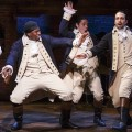 (L-R) Daveed Diggs, Okieriete Onaodowan, Anthony Ramos and Lin-Manuel Miranda in Hamilton Credit: Courtesy of Joan Marcus