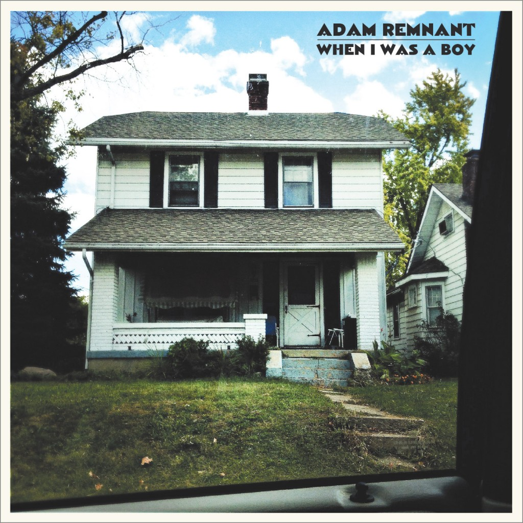 A picture of Remnant's childhood home serves as the cover for his first solo EP. (Submitted)
