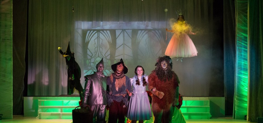The Ohio University Lancaster theatre program's final performance of its run of 'The Wizard of Oz' in the newly renovated Wagner Theatre. (Submitted)