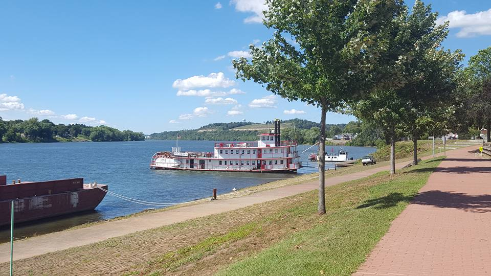 A photo of sternwheeler taken during a past Ohio River Sternwheel Festival in Marietta. (Facebook.com/OhioSternwheelFestival)