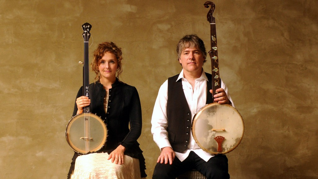 On Sunday, Oct. 9 at 3 p.m., the Marietta College Esbenshade Series presents the first of its concerts to be held at the newly-restored theatre, featuring husband and wife banjo virtuosos Béla Fleck and Abigail Washburn. (Submitted)