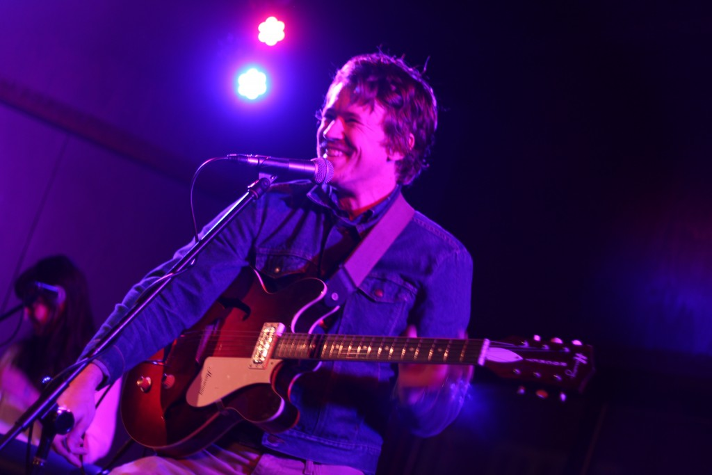 Adam Remnant playing at The Union last night. (Joe Votaw/WOUB)