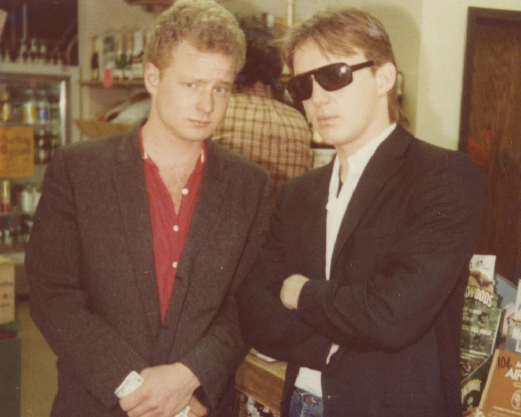 Butch Vig and Steve Marker, the founders of Smart Studios. (Facebook.com/thesmartstudiostory)