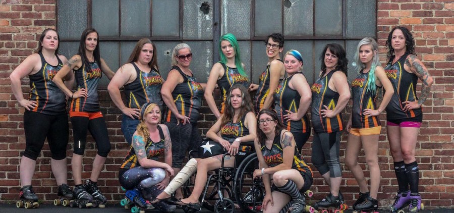 Marietta's Hadies Ladies of H.O.R.D. (Hell's Orchard Roller Derby) have organized a benefit triple-header this weekend. (Facebook.com/Hades-Ladies)