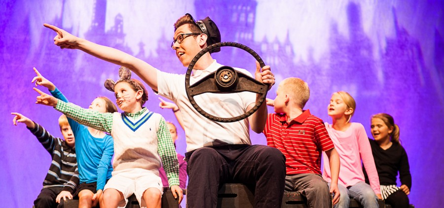 "Last night the ABC Player's opened up their first production of ""Stuart Little."" (Morristowne Photography)"