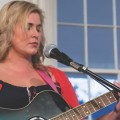 """Renée Stewart sings """"The Sound of Lonely"""" at The Bowen House; Logan; OH; 2015-16 Women Speak. (Photo courtesy of Women of Appalachia Project.)"""