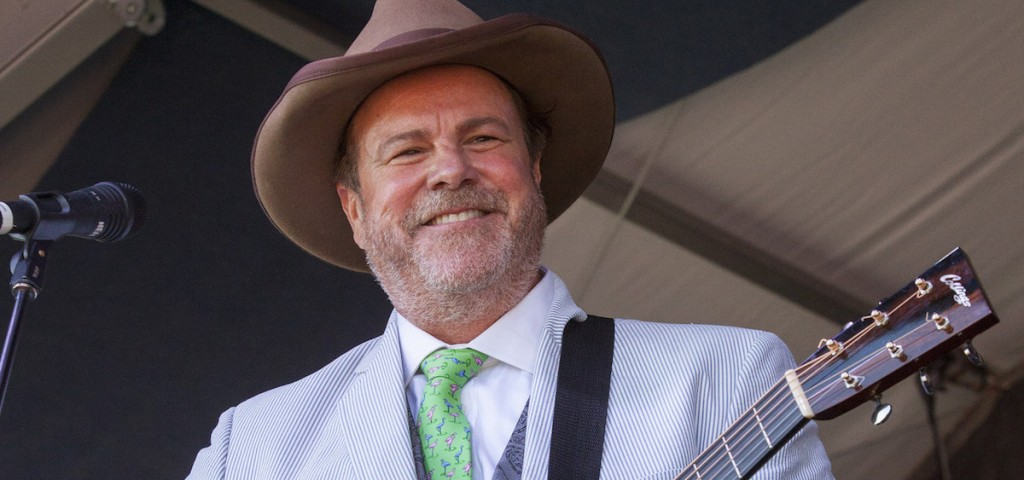 Robert Earl Keen performs at the New Orleans Jazz and Heritage Festival on May 4, 2014. Keen will join Lyle Lovett in a performance on Sunday at OU's Templeton-Blackburn Alumni Memorial Auditorium. (npr.org)