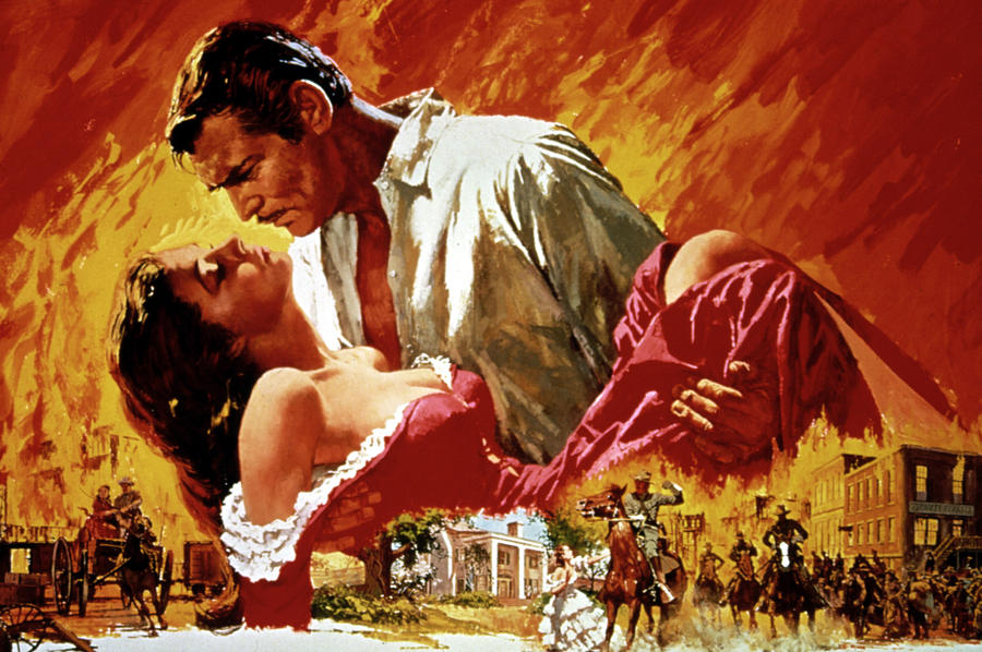 "The Peoples Bank Theatre will screen the classic film ""Gone With the Wind"" this November. (evelynfilmfan.com)"