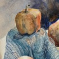 """Apple Gourds"" by Pam Callahan, a local artist whose work will be on display this month at ARTS/West. (Submitted)"