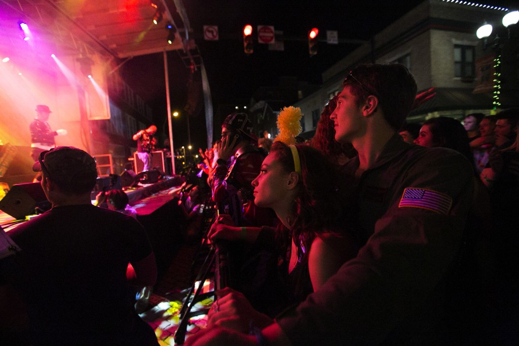 Hundreds of Halloween lovers attended Saturday's Halloween Block Party in Downtown Athens.