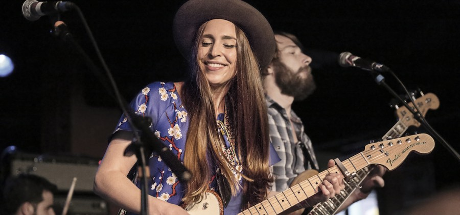 Angela Perley & The Howlin' Moons are headed back to Casa early next month. (Harry Acosta/Submitted)