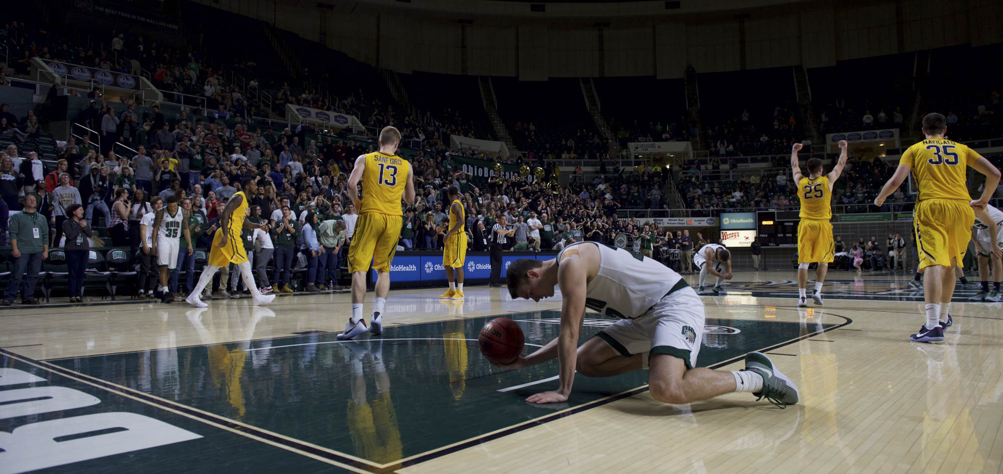 Photos: Ohio University Men's Basketball vs. Toledo Rockets - WOUB Digital
