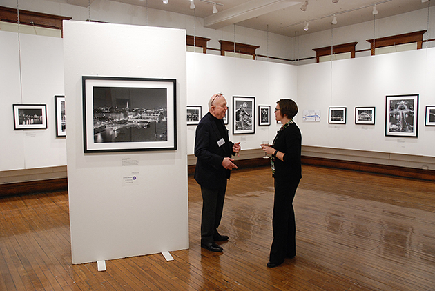 Artist Gary Zuercher discusses the exhibition of his Parisian photographs at the Wayne Center for the Arts. (Submitted)