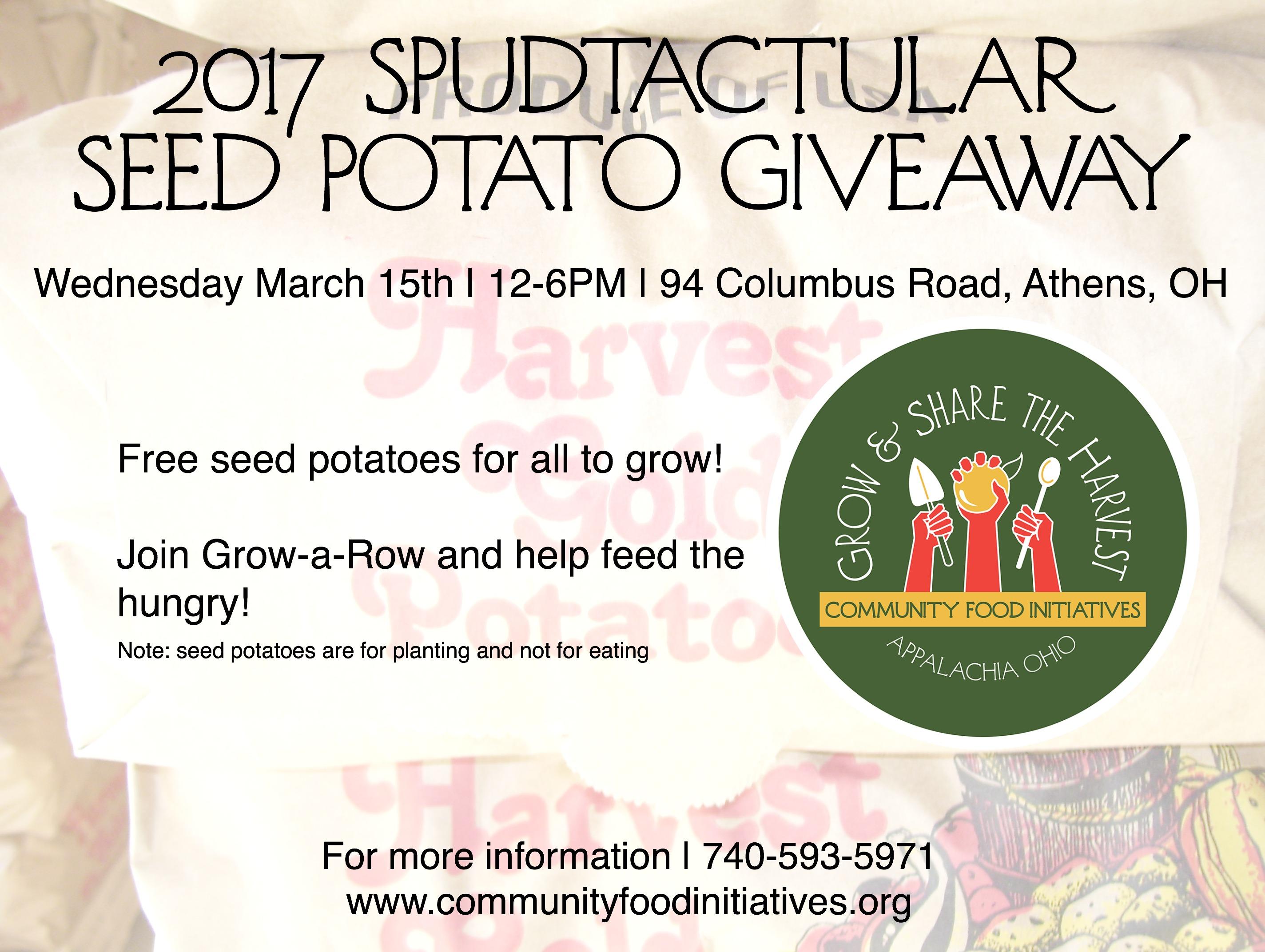 2017 Spudtactular Seed Potato Giveaway - WOUB Public Media